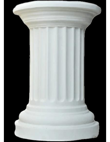 Media columna griega