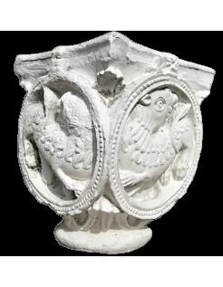 Chapiteau aux lions - XI ème siècle