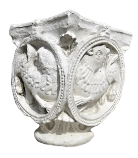 Lions capital - XI th century