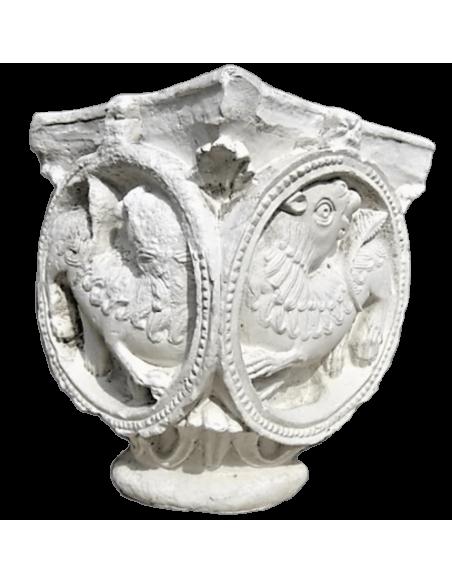 Lions capital - XI th century