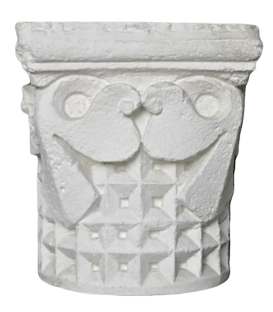 Capital with geometrical decoration -12th century