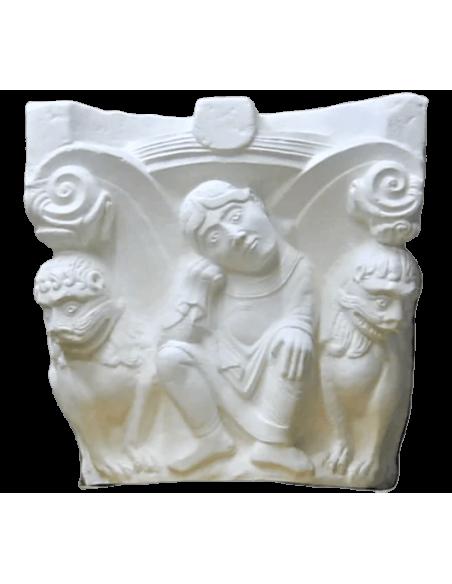 Chapiteau Daniel dans la fosse aux lions - XI ème siècle