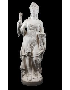 Estatua de la diosa Ceres - El verano, interpretacion de las Cuatro Estaciones