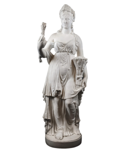 Statue of the goddess Ceres - The summer, interpretation of the Four Seasons