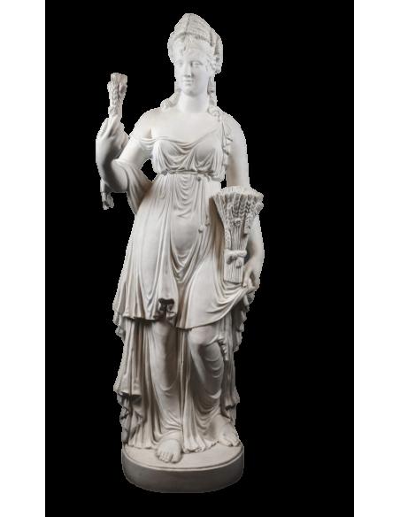 Statue de la déesse Cérès - L'été, interprétation des Quatre Saisons