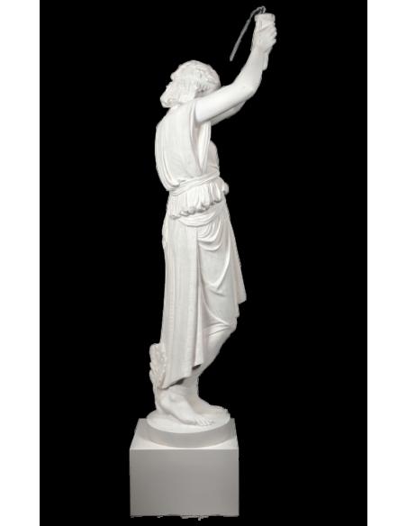 Joven egipcia portadora de luz - estatua de tamaño real.