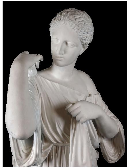 Artemisa o Diana de Gabies - Estatua a tamano real de Praxitele - Diosa Romana de la Caza y de la Luna