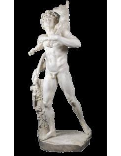 El Fauno del cabrito por Pierre Lepautre Louvre - estatua de tamaño real