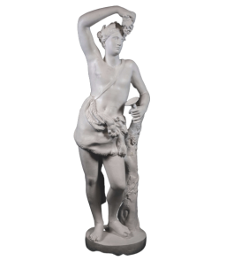 Dionysos or Bacchus god of wine, theatre and madness - life-size statue