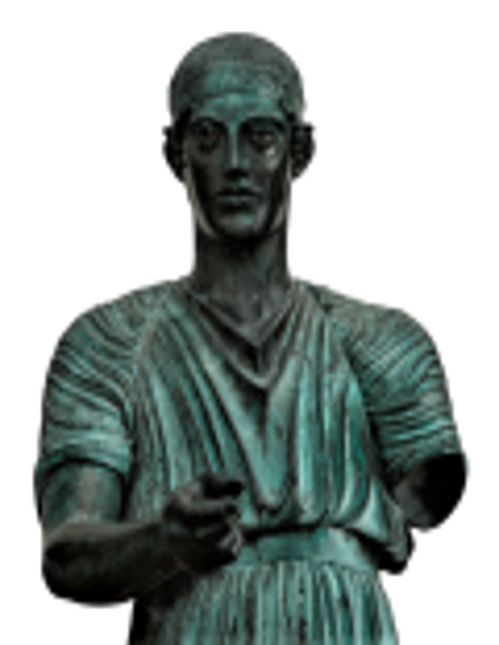 Aurige de Delphes - statue grandeur nature