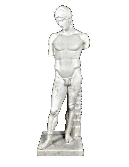 Estatua del dios Marte o Ares Borghese - Museo del Louvre