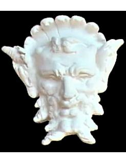 Masque satyre stylisé