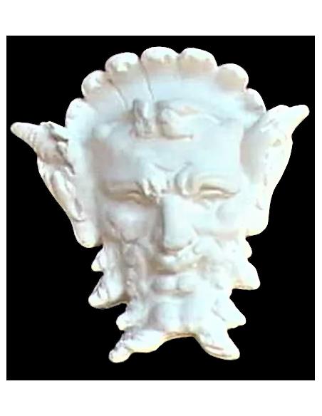 Stylized satyr mask