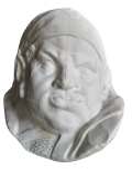 Masque du valet de chien par Pierre Puget