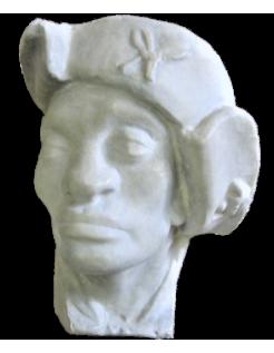 Rey Negro Baltasar - detalle de la catedral de Estrasburgo