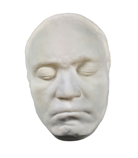 Mask of Beethoven during his lifetime