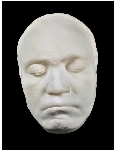 Masque de Beethoven de son vivant