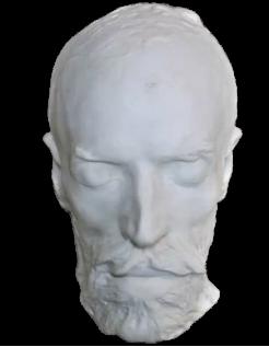 Masque mortuaire de Jean-Baptiste Carpeaux