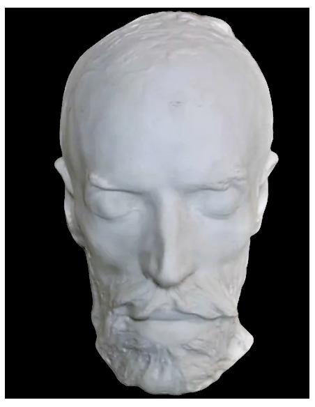 Máscara mortuoria de Jean-Baptiste Carpeaux