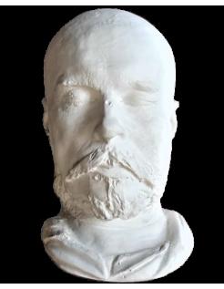 Mortuary mask of Paul Verlaine