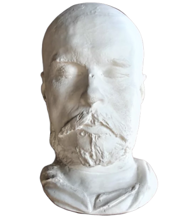 Masque mortuaire de Paul Verlaine