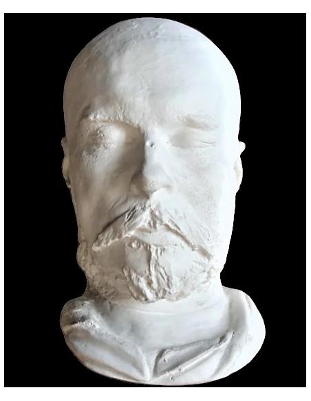 Máscara mortuoria de Paul Verlaine
