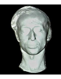Mortuary mask of Fryderyk François Chopin