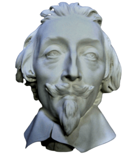Bust of Cardinal de Richelieu by Gian Lorenzo Bernini, known as Le Bernin