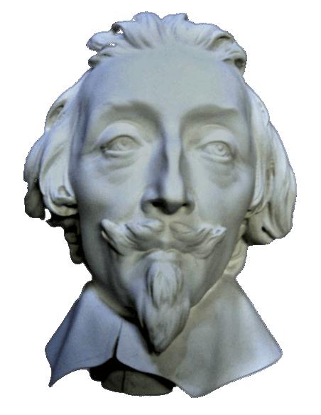 Buste du cardinal de Richelieu par Gian Lorenzo Bernini, dit Le Bernin
