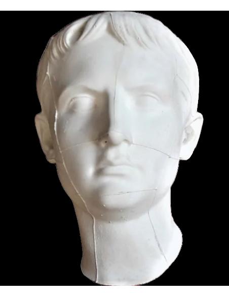 Buste de Auguste (Caius Octavius Thurinus), appelé Octavien