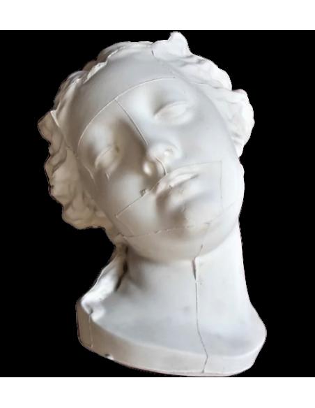 Busto de la bañista o Venus en el baño por Christophe-Gabriel allegrain