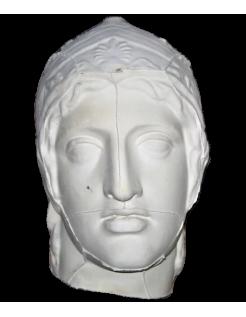 Buste Arès Borghèse (ou Mars Borghèse) Musée du Louvre.