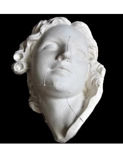 Busto de Amor tallando un arco con la maza de Hércules por Edme Bouchardon