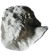 Diogenes by Pierre Puget, detail of the sculpted relief Alexandre and Diogenes
