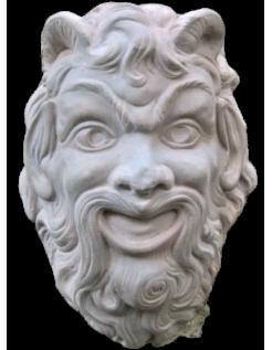Masque de satyre de pompéi