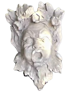 Masque de génie des eaux