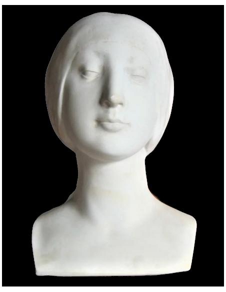 Bust of Unknown Princess by Francesco de Laurana