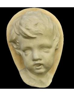 Visage d'enfant style baroque holandais