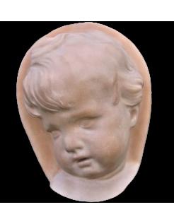 Cara de niño 3/4 de estilo barroco holandés
