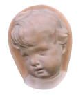 Child's face 3/4 Dutch baroque style