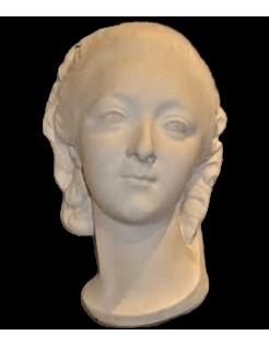 Busto de la Condesa de Barry por Augustin Pajou