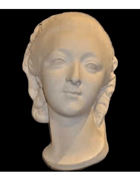 Buste de la Comtesse du Barry par Augustin Pajou