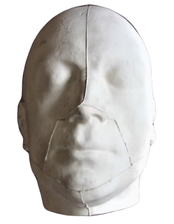 Mortuary mask of Maximilien de Robespierre