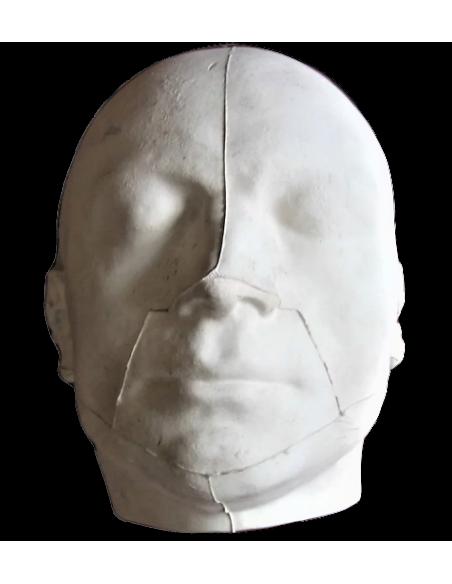 Máscara mortuoria de Maximilien de Robespierre