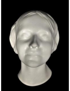 Masque mortuaire de l'inconnue de la Seine