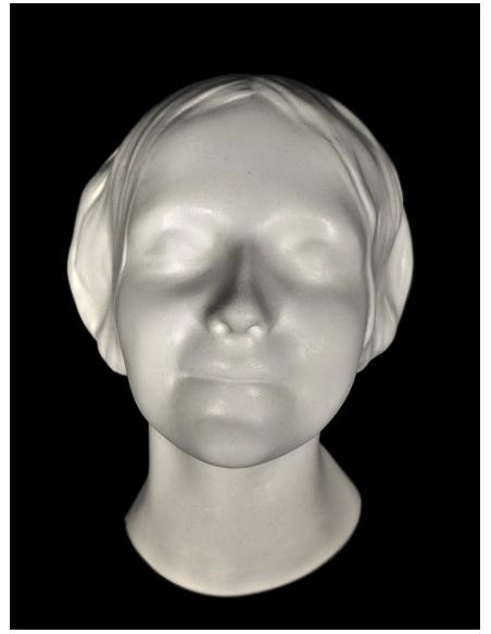 Máscara mortuoria de la desconocida del Sena