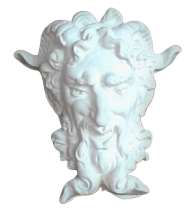 Mask of a satyr by Michelangelo