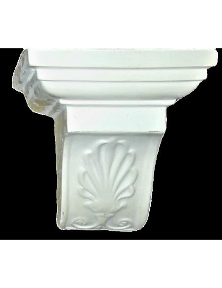 Console style grecque avec motif à palmette