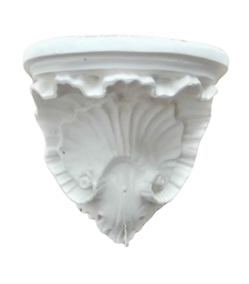 Louis XV style shell console wall
