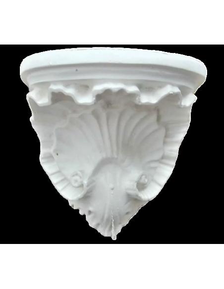 Mensula concha de estilo Luis XV